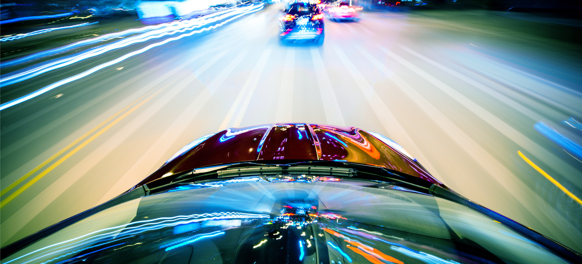 Turboladerschaden bei einem überholendem Auto